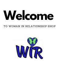 Woman in relationship shop