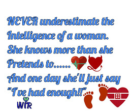 intelligence of a woman