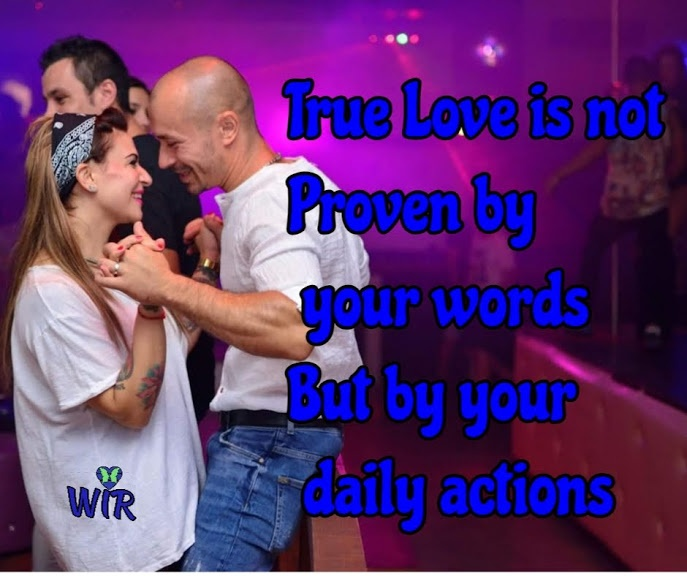 daily actions show true love
